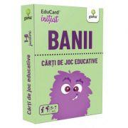 Banii. EduCard initiat. Carti de joc educative imagine librariadelfin.ro