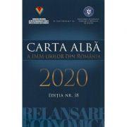 Carta alba a IMM-urilor din Romania 2020. Editia nr. 18 imagine librariadelfin.ro