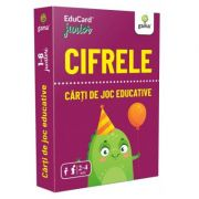 Cifrele. EduCard Junior. Carti de joc educative imagine librariadelfin.ro