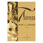 Piese pentru chitara Vol. 1 - Francisco Tarrega imagine librariadelfin.ro