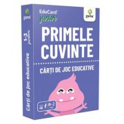 Primele cuvinte. EduCard Junior. Carti de joc educative imagine librariadelfin.ro