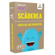 Scaderea. EduCard initiat. Carti de joc educative imagine librariadelfin.ro