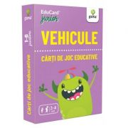 Vehicule. EduCard Junior. Carti de joc educative imagine librariadelfin.ro