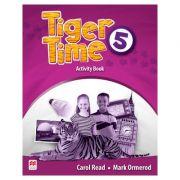 Tiger Time 5 Activity Book ( Caietul elevului ) imagine librariadelfin.ro
