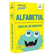 Alfabetul. EduCard Junior plus. Carti de joc educative imagine librariadelfin.ro