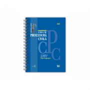 Codul de procedura civila 2021 - EDITIE SPIRALATA, tiparita pe hartie alba - Dan Lupascu imagine librariadelfin.ro