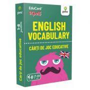 English Vocabulary. EduCard expert. Carti de joc educative imagine librariadelfin.ro