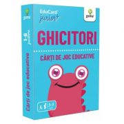 Ghicitori. EduCard Junior plus. Carti de joc educative imagine librariadelfin.ro