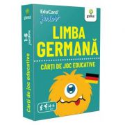 Limba Germana. EduCard Junior plus. Carti de joc educative imagine librariadelfin.ro