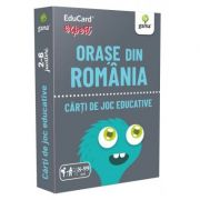 Orase din Romania. EduCard expert. Carti de joc educative imagine librariadelfin.ro