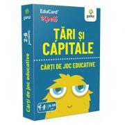 Tari si capitale. EduCard expert. Carti de joc educative imagine librariadelfin.ro