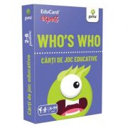 Who's Who. EduCard expert. Carti de joc educative imagine librariadelfin.ro