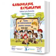 Cangurasul explorator 2020-2021. Revista de antrenament pentru clasa pregatitoare si clasele I-IV imagine librariadelfin.ro