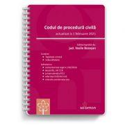 Codul de procedura civila (actualizat la 1 februarie 2021) - Vasile Bozesan imagine librariadelfin.ro