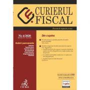 Curierul Fiscal nr. 6/2020 imagine librariadelfin.ro