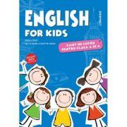 English for kids – caiet de lucru pentru clasa a III-a - Rodica Dinca imagine librariadelfin.ro