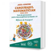 Jocul-concurs Cangurasul Matematician 2020-2021. Revista de antrenament pentru clasa pregatitoare si clasele I-IV imagine librariadelfin.ro