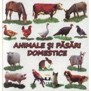 Animale si pasari domestice (editie cartonata) - Toma Costinel Daniel imagine libraria delfin 2021