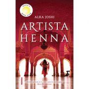 Artista Henna - Alka Joshi imagine libraria delfin 2021