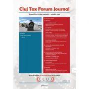 Cluj Tax Forum Journal 5/2020 - Cosmin Flavius Costas imagine libraria delfin 2021