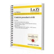 Codul de procedura civila. Actualizat la 3. 03. 2021 - Traian Cornel Briciu imagine librariadelfin.ro