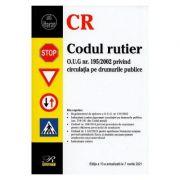 Codul rutier Ed. 10 Act. la 7 martie 2021 imagine librariadelfin.ro