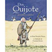 Don Quijote povestit copiilor - Rosa Navarro Duran, Francesc Rovira imagine libraria delfin 2021