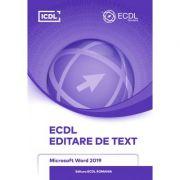 ECDL Editare de text. Microsoft word 2019 imagine libraria delfin 2021