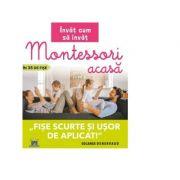 Invat cum sa inva. Montessori acasa in 35 de fise. Fise scurte si usor de aplicat - Solange Denervaud imagine libraria delfin 2021