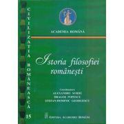 Istoria filosofiei romanesti - Alexandru Surdu, Dragos Popescu, Stefan-Dominic Georgescu imagine libraria delfin 2021