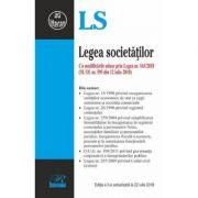 Legea societatilor - Cu modificarile aduse prin Legea nr. 163/2018 imagine librariadelfin.ro