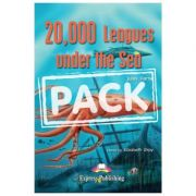 Literatura adaptata pentru copii 20 000 Leagues Under the Sea SET Carte + Multi-ROM + Caiet de activitati - Elizabeth Gray imagine libraria delfin 2021