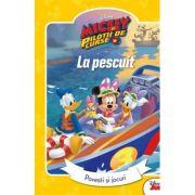 Mickey si pilotii de curse. La pescuit. Povesti si jocuri imagine libraria delfin 2021
