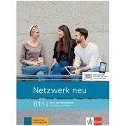 Netzwerk neu B1. 1, Kurs und Ubungsbuch mit Audios und Videos - Stefanie Dengler, Tanja Mayr-Sieber, Paul Rusch imagine librariadelfin.ro