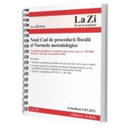 Noul Cod de procedura fiscala si Normele metodologice de aplicare. Actualizat la 9. 03. 2021 imagine libraria delfin 2021