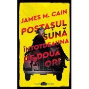 Postasul suna intotdeauna de doua ori - James M. Cain imagine libraria delfin 2021