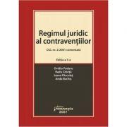 Regimul juridic al contraventiilor. O. G. nr. 2/2001 comentata. Editia a 5-a - Ovidiu Podaru, Radu Chirita, Ioana Pasculet, Anda Bachis imagine librariadelfin.ro