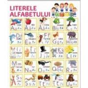 Plansa A2 Literele alfabetului imagine librariadelfin.ro