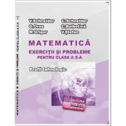 Matematica Exercitii si probleme pentru clasa a X-a. Profilul Tehnologic - Virgiliu Schneider imagine librariadelfin.ro