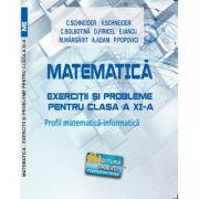 Matematica Exercitii si probleme pentru clasa a XI-a. Profil matematica-informatica - Virgiliu Schneider imagine librariadelfin.ro