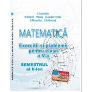 Matematica. Exercitii si probleme clasa a V-a Semestrul al II-lea - Delia Schneider imagine librariadelfin.ro