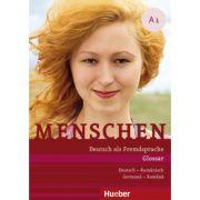 Menschen A1 Glossar Deutsch-Rumanisch Glosar Germana-Romana - Daniela Niebisch imagine librariadelfin.ro