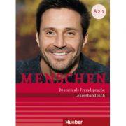 Menschen A2 Paket Lehrerhandbuch A2. 1 und A2. 2 - Susanne Kalender, Angela Pude imagine librariadelfin.ro