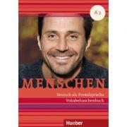 Menschen A2 Vokabeltaschenbuch - Daniela Niebisch imagine librariadelfin.ro