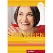 Menschen B1 Vokabeltaschenbuch - Daniela Niebisch imagine librariadelfin.ro