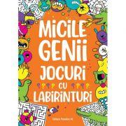 Micile genii. Jocuri cu labirinturi - Gareth Moore imagine librariadelfin.ro
