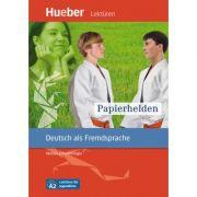Papierhelden Leseheft - Marion Schwenninger imagine librariadelfin.ro