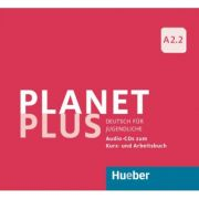 Planet Plus A2. 2 2 Audio-CDs zum Kursbuch, 1 Audio-CD zum Arbeitsbuch Deutsch fur Jugendliche - Gabriele Kopp imagine librariadelfin.ro