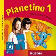 Planetino 1 3 Audio-CDs zum Kursbuch Deutsch fur Kinder - Gabriele Kopp imagine librariadelfin.ro