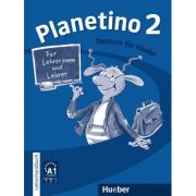 Planetino 2 Lehrerhandbuch Deutsch fur Kinder - Siegfried Buttner imagine librariadelfin.ro